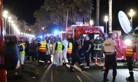 Nice truck attack: 'Bodies went flying like bowling pins'