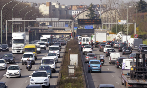Plan to conquer Paris ring road for bikes and pedestrians