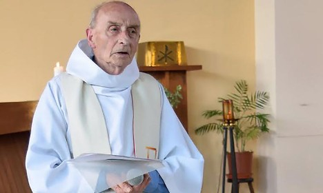 Thousands to turn out for funeral of slain French priest