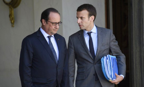 Macron quits government before likely bid for Elysée