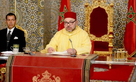 Morocco's king drains water supply from French villages