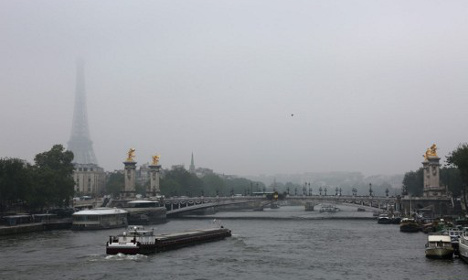 Paris warned about high level of ozone pollution