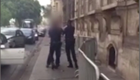 VIDEO: Drunk-driving elite French cop in 'racist tirade'