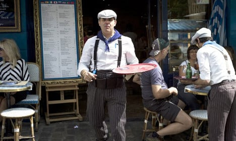 'Give me a grumpy Paris waiter over US-style service any day'