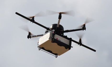 Pizza-delivery drones could be on their way to France
