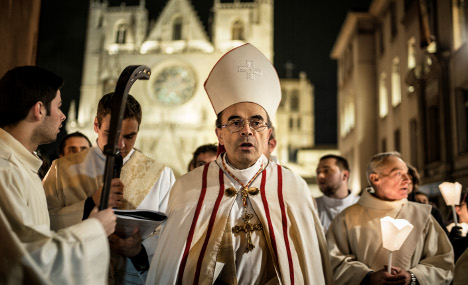 France dismisses sex abuse cover-up probe into Cardinal