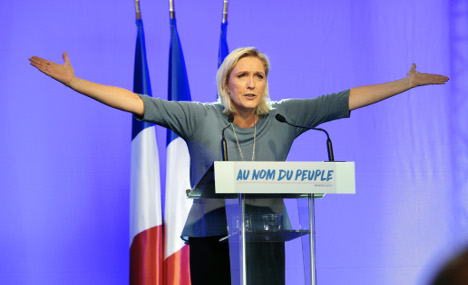 Marine Le Pen vows to 'win back freedom for France'