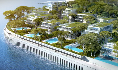 Monaco to build six hectares of luxury flats in the sea