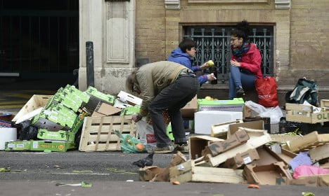 Over 14 percent of the French live below poverty line