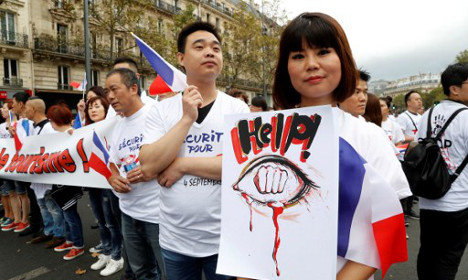 Chinese shop owner robbed in latest Paris incident