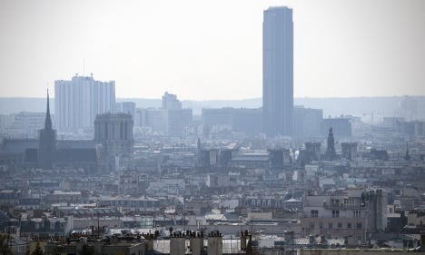Where in France has the cleanest and dirtiest air?