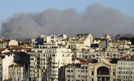 Wild fires ravage Calanques park in southern France