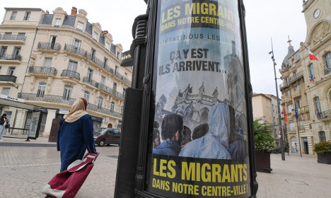 They're coming: French mayor's 'sick' migrant posters