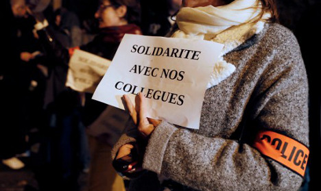 In their own words: Why French police are in revolt