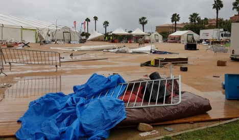 Over 20 injured as tent collapses in Corsica storm