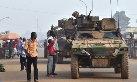 France ends military mission in troubled Central Africa