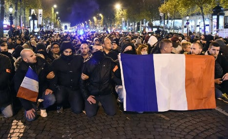 Anger among French police grows as Hollande vows talks