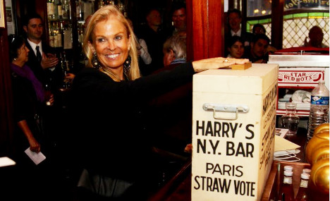 US envoy casts first 'straw' vote at Harry's Bar in Paris