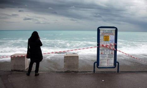 Schools closed as violent storms lash southern France