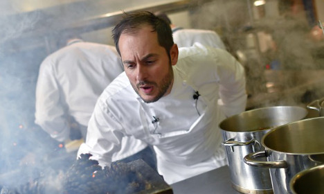And France's top chef of the year is... 'Monsieur Idiot'