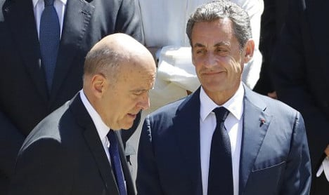 Rivals Sarkozy and Juppé set for televised showdown