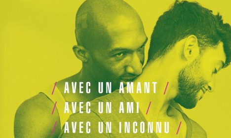 French mayors take down HIV posters of men embracing