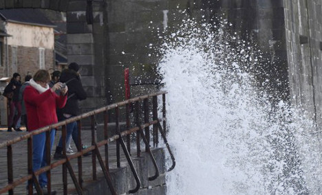 South eastern France on alert as storms lash the region