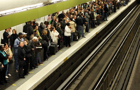 And the worst Metro and train lines in Paris for delays are?