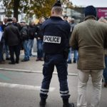 French police tackle night of violence on Halloween