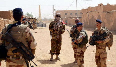 French soldier killed in Mali blast claimed by Islamists
