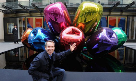 Jeff Koons gives sculpture to Paris to honour terror victims