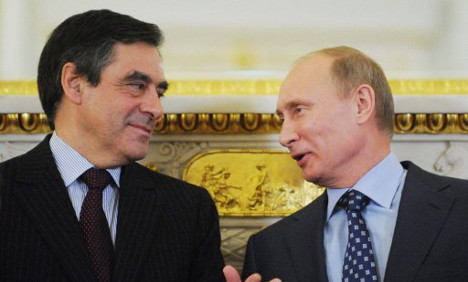 Russia hails Francois Fillon (as a worried Germany looks on)