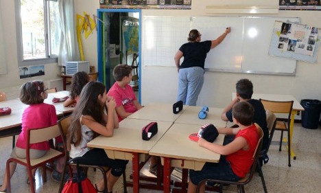 French school pupils ranked 'worst at maths' in all of EU