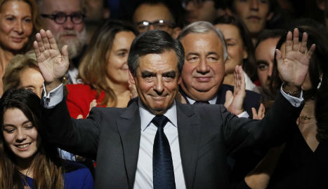 Rightwinger Fillon reaches for French presidential nod