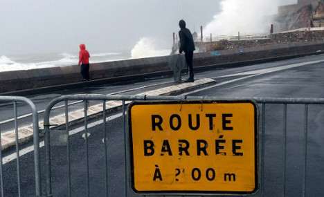 More weather alerts for south of France as storm heads west