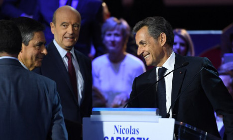 Right wing rivals turn on Sarkozy in battle for primary