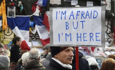 What happened in France after the Paris terror attacks