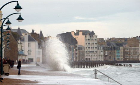 Northern France braces for weekend of wild weather