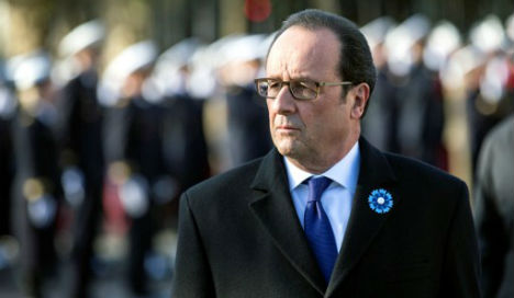 Hollande covers ISIS, Ukraine and climate in Trump call