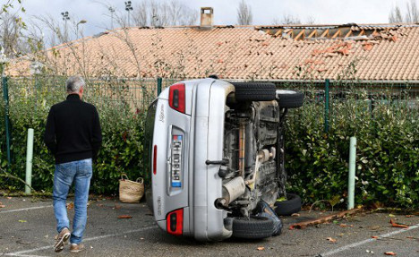 IN PICS: Mini tornado causes havoc in southern France