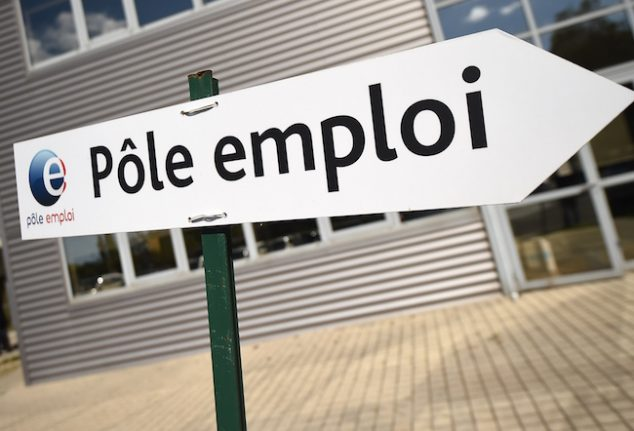 French unemployment falls for third month in a row