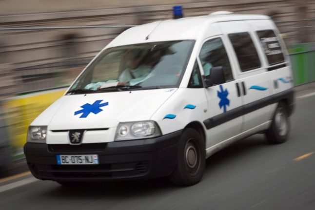 Several dead in massive pile-up on road in western France