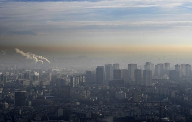 Paris set for (yet another) spike in pollution levels