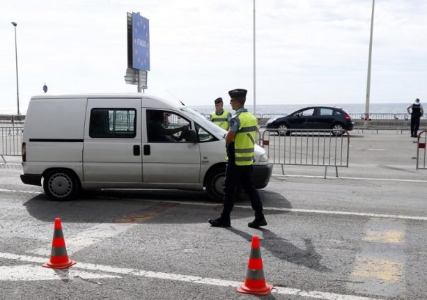 French police intercept 45 African migrants from Italy