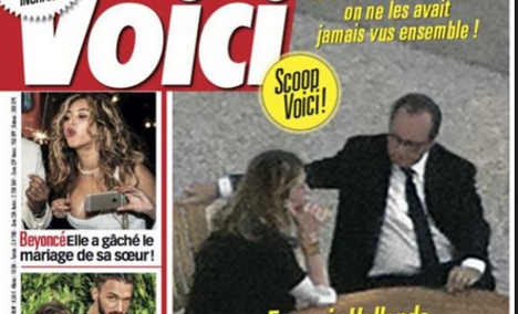 IN PICTURES: The defining moments of Hollande's presidency