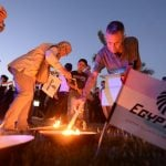 Explosive traces found on crash victims of EgyptAir flight from Paris