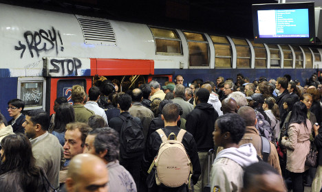 Trains between Paris and Charles de Gaulle airport suspended