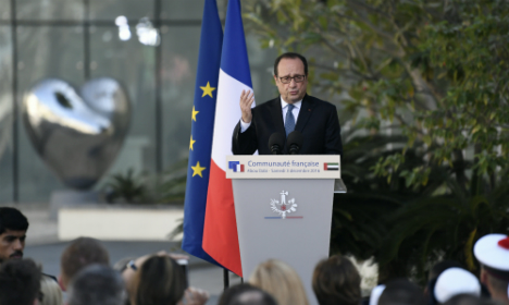 Hollande vows to fight for weakest until he steps down