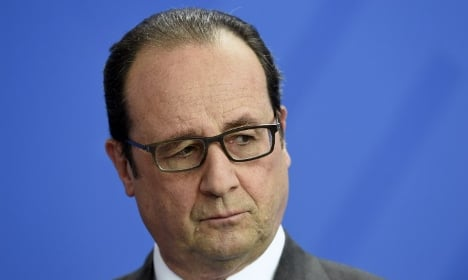 Hollande announces he will NOT stand for re-election