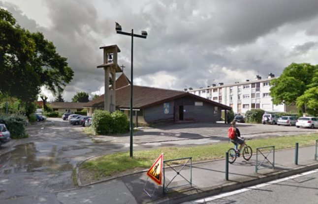 Mystery remains over makeshift explosive found at French church